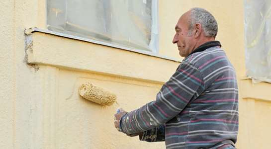 How to prepare to apply masonry paint