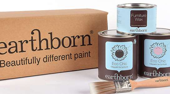 Why should I use Earthborn paint for my furniture project?