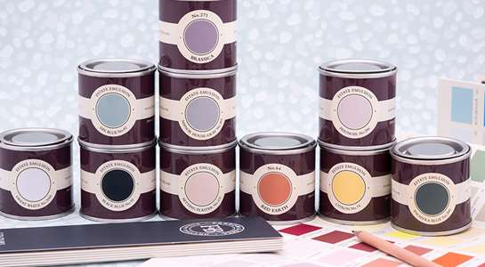 Pots of Farrow and Ball Paint Available