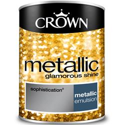 Crown Metallic Wall Paint