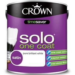 Crown Solo One Coat Satin