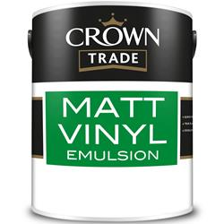 Crown Trade Matt Vinyl Emulsion