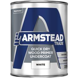 Armstead Trade Quick Drying Wood Primer Undercoat