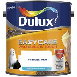 Buy 2 for £39 on Dulux Easycare Washable & Tough 2.5L Ready Mixed