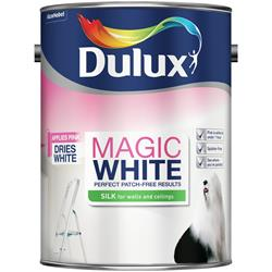 Dulux Magic White Silk