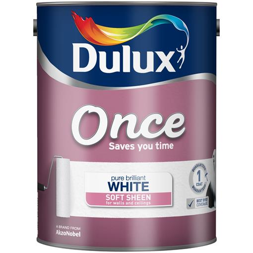 Dulux Once Soft Sheen