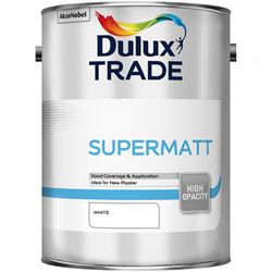 FREE Delivery on Dulux Trade Supermatt 5L Mixed to Order