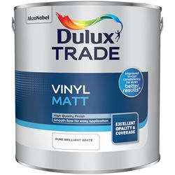 20% Off When You Buy 10 & Free Delivery on Dulux Trade Vinyl Matt 5L Mixed to Order