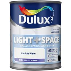 Dulux Light & Space Quick Dry Satinwood
