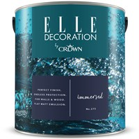 Buy 2 for £65 & Free Delivery on Crown Elle Decoration Flat Matt