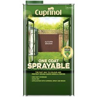Buy 2 for £36 on Cuprinol One Coat Sprayable Fence Treatment