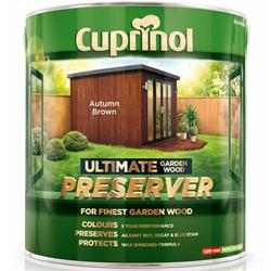 Cuprinol Ultimate Garden Wood Preserver