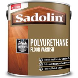 Sadolin Polyurethane Floor Varnish 2.5 Litre