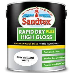 Sandtex Rapid Dry Plus High Gloss