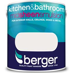 Berger Kitchen and Bathroom Mid Sheen