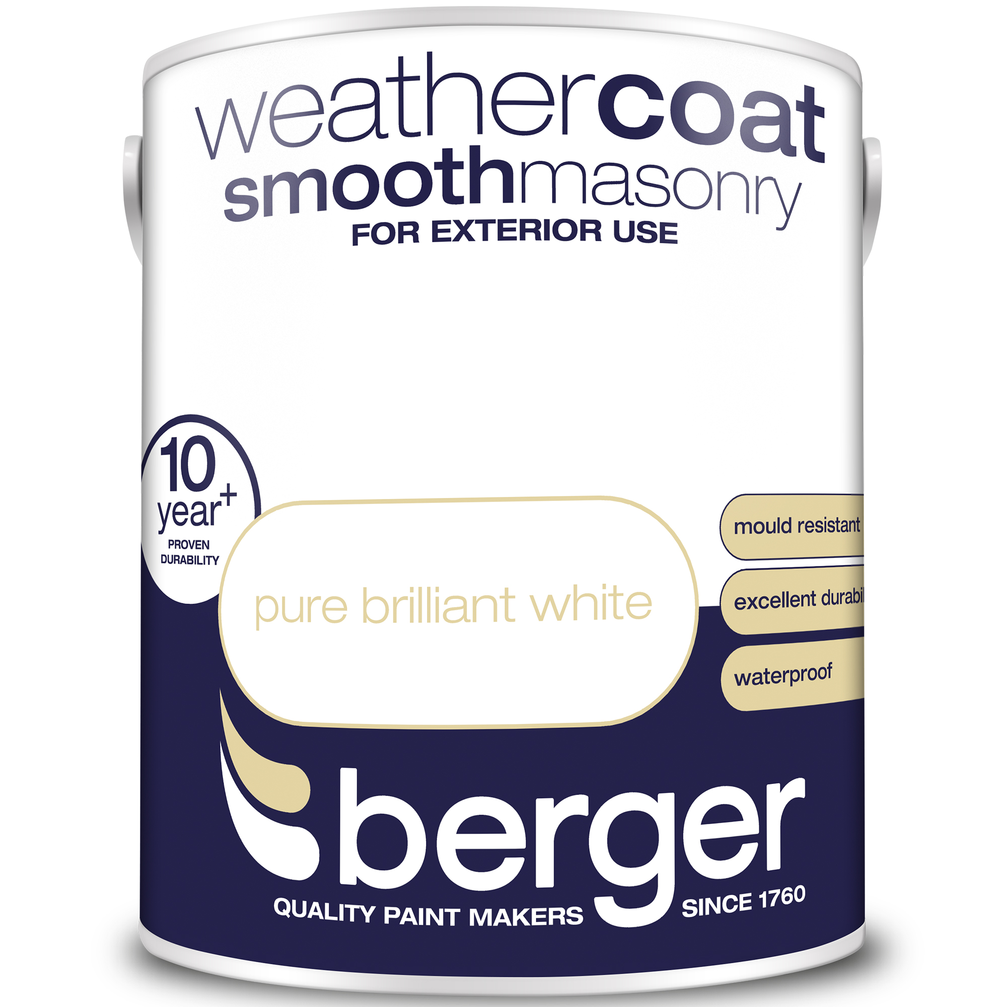Berger Weather Coat Exterior Smooth Emulsion Paint