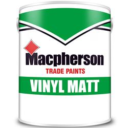 Buy 2 for £45 on Macpherson Trade Vinyl Matt 5L Mixed to Order
