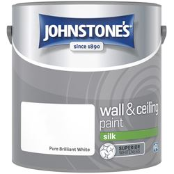 Buy 2 for £26 on Johnstone's Silk Emulsion 2.5L Ready Mixed