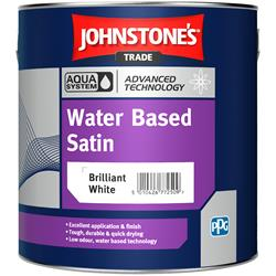 Johnstone's Trade Aqua Water Based Satin