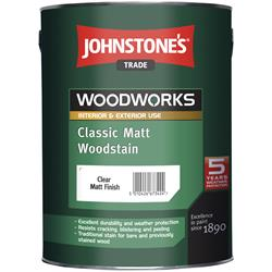 Johnstone's Trade Classic Matt Woodstain