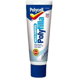 Polycell Multi Purpose Polyfilla Ready Mixed Tube 330gm
