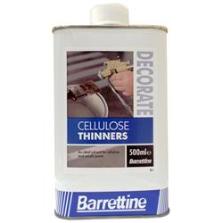 Barrettine Cellulose Thinners 500ml