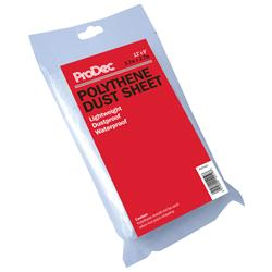 Rodo ProDec Polythene Dust Sheet 12'x9'