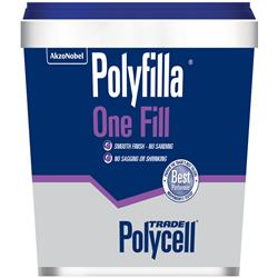Polycell Polyfilla One Fill 1 Litre