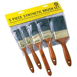Rodo Job Done 5 Piece Synthetic Brush Set