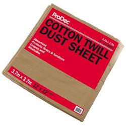 Rodo ProDec Cotton Twill Dust Sheet 12' x 12'