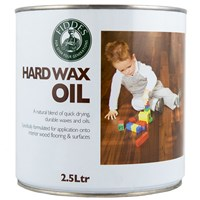 FREE Delivery on Fiddes Hardwax Oil Clear 2.5L Ready Mixed