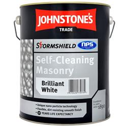 Johnstone's Trade Stormshield Self-Cleaning Masonry Paint
