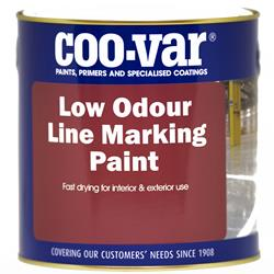 Coovar Low Odour Line Marking Paint