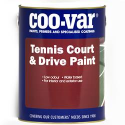 Coovar Tennis Court and Drive Paint