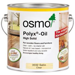 FREE Delivery on Osmo Polyx Hardwax Oil Satin 3032 2.5L Ready Mixed