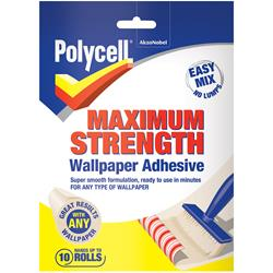 Polycell Maximum Strength Wallpaper Adhesive 10 Roll