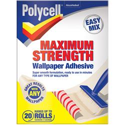 Polycell Maximum Strength Wallpaper Adhesive 20 Roll
