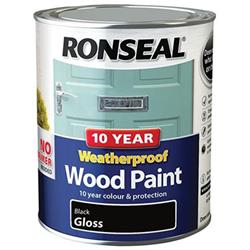 Ronseal 10 Year Weatherproof Wood Paint Gloss