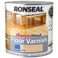 FREE Delivery on Ronseal Diamond Hard Floor Varnish 5L Ready Mixed