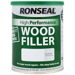 FREE Delivery When You Buy 3 or More on Ronseal High Performance Wood Filler 1kg Ready Mixed