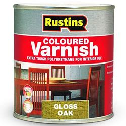 Rustins Polyurethane Coloured Varnish Satin