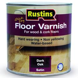 Rustins Quick Dry Floor Varnish Satin