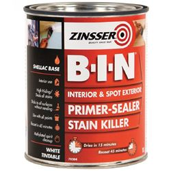 FREE Delivery on Zinsser B-I-N Primer 2.5L Ready Mixed