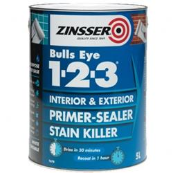Zinsser Bulls Eye 1-2-3 Interior and Exterior Primer Sealer