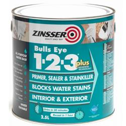 Zinsser Bulls Eye 1-2-3 Plus Primer