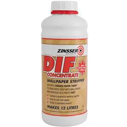 Zinsser DIF Wallpaper Stripper Concentrate 1 litre