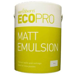Buy 2 for £95 & Free Delivery on Earthborn Ecopro Matt 5L Mixed to Order