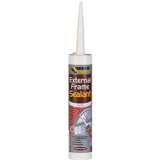 Everbuild Exterior Frame Sealant 290ml White