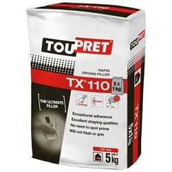 Toupret Rapid Drying Filler TX110 5kg