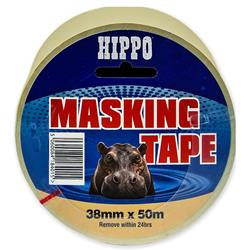 Hippo 25 mm x 50mtr Roll Masking Tape
